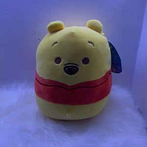 NWT winnie the pooh squishmallow